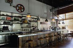 Bar Design-- SHELVING STYLE
