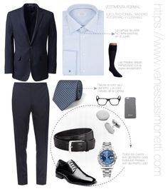 Vestimenta formal para el ejecutivo maduro, autoritario y confiable @IITTI