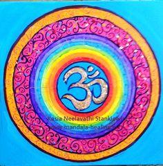 najnowsza mandala :) tęczowo:) więcej na www.mandala-healing.eu