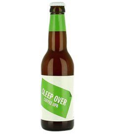 Cerveja To Øl Sleep Over Coffee IIPA, estilo Imperial / Double IPA, produzida por To Øl, Dinamarca. 10.5% ABV de álcool.