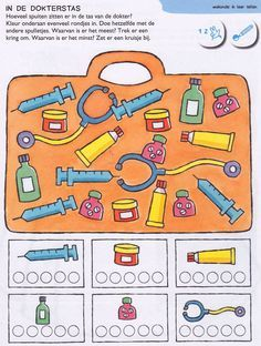 Crafts,Actvities and Worksheets for Preschool,Toddler and Kindergarten.Lots of worksheets and coloring pages. Community Helpers Worksheets, Worksheets For Kids, Preschool Crafts, Crafts For Kids, Teacher Portfolio, People Who Help Us, Community Workers, Dramatic Play, Kindergarten Math