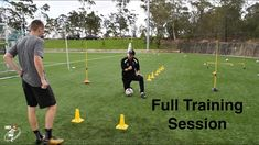 FULL SESSION   Loads of different football drills   Bailey Chapo   Joner...