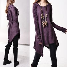 First line of the poem knits tunic dress Q5101 by idea2lifestyle