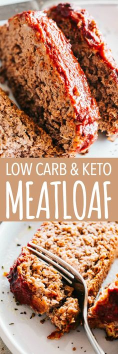 Easy Meatloaf Recipe (Low Carb and KETO) – Stuffed with feta cheese and topped. Easy Meatloaf Recipe (Low Carb and KETO) – Stuffed with feta cheese and topped with a delicious sweet and tangy glaze, Good Meatloaf Recipe, Meat Loaf Recipe Easy, Best Meatloaf, Meatloaf Recipes, Meat Recipes, Low Carb Recipes, Cooking Recipes, Healthy Recipes, Sweets Recipes