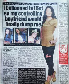 Cambridge Weight Plan's lovely Woman of the Year runner up, Louise shares her amazing story in The Sun! (Jan 2014)