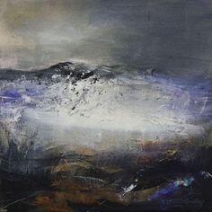 Patricia Sadler - Storm Receding, 2009, acrylic on canvas