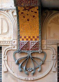 Casa botiga Josep Reig. Architect: Manuel Joaquim Raspall i Mayol La Garriga - Banys 44 c
