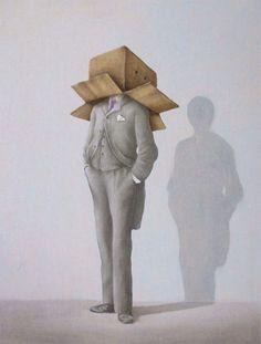 Faceboox, 2012. Oil on canvas, 40 x 30 cm.