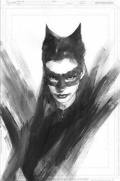 Catwoman from Batman The Dark Knight Rises by Ben Oliver The Dark Knight Trilogy, The Dark Knight Rises, Batman The Dark Knight, Batman And Catwoman, Batgirl, Batman Vs, Comic Books Art, Comic Art, Bd Cool