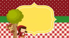 birthday – Invitation by Rafael Lima Red Riding Hood Party, Party Printables, Kids And Parenting, Birthday Invitations, Disney Characters, Fictional Characters, Alice, Disney Princess, Canvas
