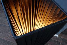 Lampadaire colonne 120 cm coloris noir - Comforium