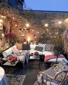 Bohemian Garden Backyard and Patio Ideas