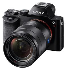Full-Frame Sony Alpha 7, 7R Mirrorless Cameras //