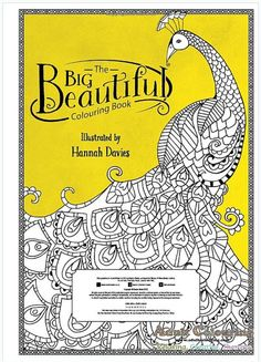 The Big Beautiful Colouring Book Poster Size