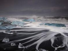 凍り付くほどに美しい、、、ターコイズブルーに輝く氷の海【アイスランド】 | IDEA HACK