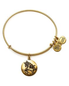 "Alex and Ani Sagittarius Expandable Wire Bangle | Made in USA | 2.25"" diameter 