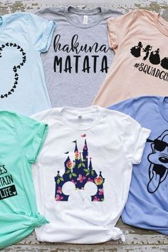 Disney t shirt! Disney Diy, Disney Mode, Disney Crafts, Disney World Trip, Disney Vacations, Disney Trips, Disney Parks, Disney Vacation Outfits, Cute Disney Outfits