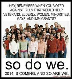 Yes WE Do!!! #unitedblue #vote2014