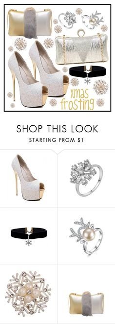 """""""Early Xmas Frosting! from twinkledeals =^•^="""" by beanpod ❤ liked on Polyvore"""