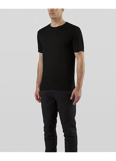 758e85157a7c Frame Shirt SS Men s Mid Navy Merino Wool