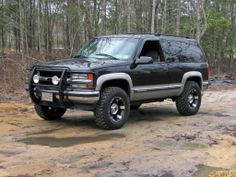 2 door tahoe/blazer/yukon if you got one show it off - Chevy Tahoe Forum Chevrolet Blazer, Chevrolet Tahoe, Chevrolet Suburban, Chevrolet Trucks, Chevrolet Silverado, Ford Pickup Trucks, Gm Trucks, Cool Trucks, 2 Door Tahoe