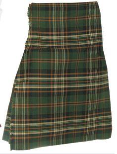 8 Yard Men's Kilt, Polyviscose, Heritage of Ireland, For Saint Patrick's Day! Scottish Plaid, Scottish Gifts, Irish Chocolate, Irish Eyes, Online Gifts, Short Skirts, Kilts, Tartan, Cheer Skirts
