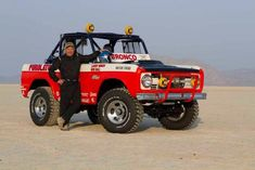 For the first time in its history, Baja 1000 runs Classic Bronco, Classic Ford Broncos, Ford Classic Cars, Classic Trucks, Off Road Jeep, Off Road Racing, Bronco Truck, Early Bronco, Sport Truck