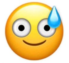 Can we start a petition to make a Mild Panic Emoji? Images Emoji, Emoji Pictures, Emoji Stickers, Meme Stickers, Smileys, Beste Emoji, Panic Meme, Emoji Drawings, Response Memes