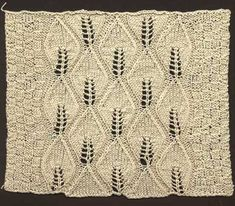 Rose Leaf Counterpane | KnitWiki