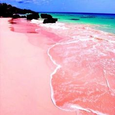 Hard to believe this magical place actually exists, Pink Sands Beach on Harbour Island Bahamas