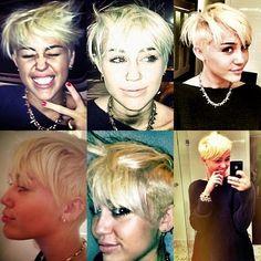 Miley cyrus, hair cut