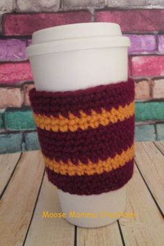 Hand Crocheted Harry Potter Gryffindor by MooseMommaCreations, $8.00
