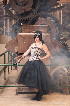 Steampunk inspired shoot at Bursledon Brickworks, Hampshire. Alternative wedding venue. Vintage wedding venue For more information visit the website http://www.ianlloydphotography.com or find us on Facebook #steampunk #victorian #vintagebride #steampunk wedding #Alternative wedding