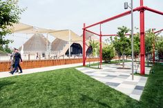 #Marazzi | #Expo2015 | #hortus | #SistemN | #porcelain | #tiles | #floor | #outdoor | #decumano