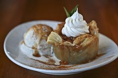 Apple Pie Empanada at La Cocina Mexican Grill and Bar in Destin. #applepie #pie #dessert