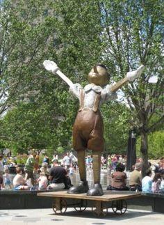 Pinocchio Statue, Citygarden, St. Louis, Missouri