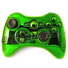 Chrome Green 360 Controller With Matching Buttons & Trim