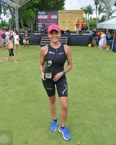 A week ago...❤️🏊🏻✨🏆📸 After our 2nd place finish for the All Female Relay category @cebuim703 Asia Pacific Championships 😊 #TeamGotta #Triathlon #Ironman703