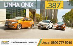 Linha Onix SEM JUROS E SEM ENTRADA! E com mensais a partir de R$ 387,41. É a sua hora de andar de Onix! www.consorciodeauto.com.br