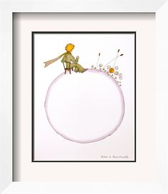 The Little Prince print @Alexis R Taylor.com
