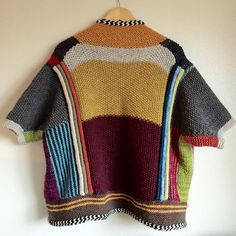 Ravelry: Project Gallery for Penguono pattern by Stephen West. Shape inspo for woven wool sweater T Hand Knitting, Knitting Patterns, Crochet Patterns, Seed Stitch, How To Purl Knit, Garter Stitch, Knit Fashion, Knitting Projects, Knitwear