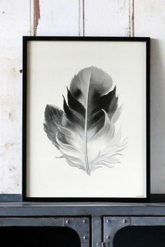 Feather Print available unframed only