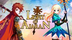 Light of Aiaran Open World MMORPG gameplay HD