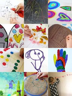 Here are 12 fun ideas for engaging children with drawing - and taking their ideas further! Great for kids of all ages.