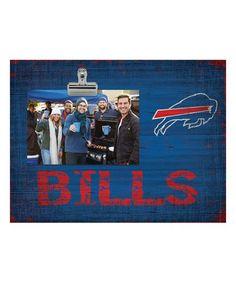 Look what I found on #zulily! Buffalo Bills Team Name Clip Frame #zulilyfinds