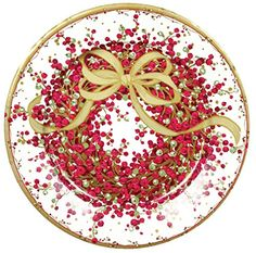 Caspari Entertaining Pepper Berry Dinner Plates Red 8Pack >>> You can find more details by visiting the image link. (This is an affiliate link)
