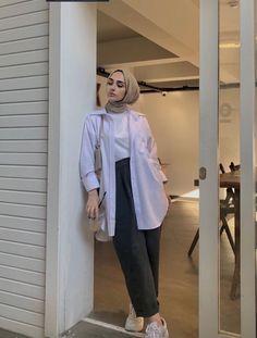 Modesty Fashion, Muslim Fashion, Fashion Outfits, Modest Outfits, Cute Casual Outfits, Hijab Casual, Hijab Fashion Inspiration, Hijabs, Aesthetic Clothes