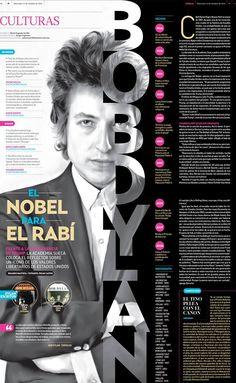 Nobel: Una excelente página que nos comparte Adrián Palma de El Financiero de México sobre el Nobel de Literatura 2016. Excelente trabajo.