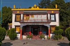 Happy Valley Gompa, Mussoorie.