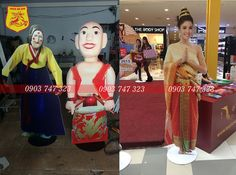 standee mo hinh, standee khung sắt